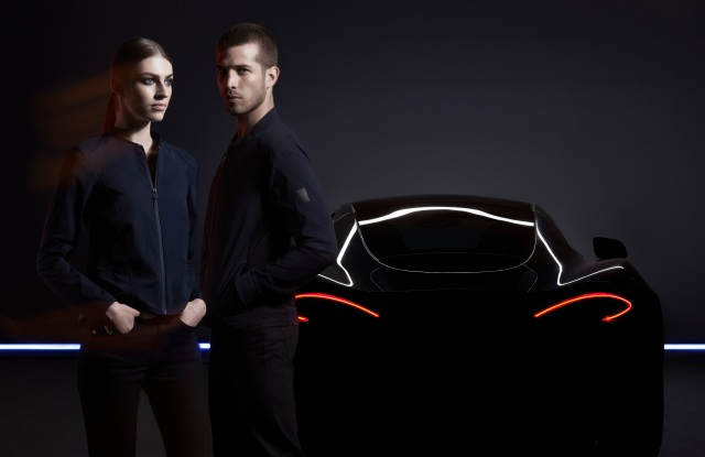 Belstaff has teamed with McLaren Automotive on a capsule collection that will be previewed at Pitti Uomo in June 2018