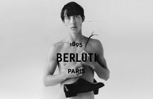 The Berluti campaign by Kris Van Assche