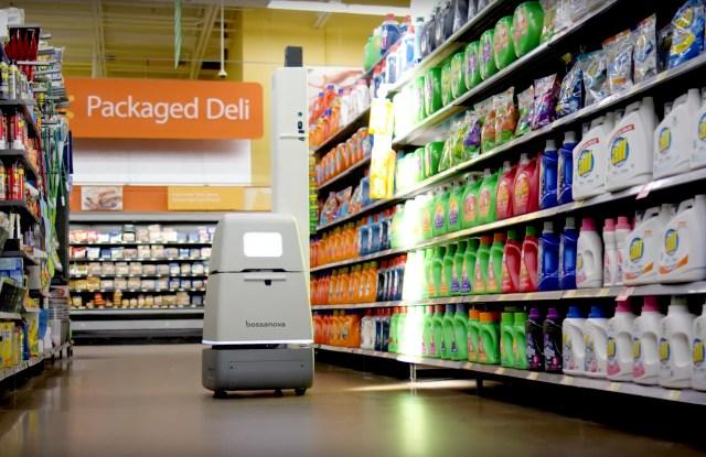 bossa nova robots retail