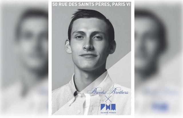 Brooks Brothers x Pierre-Henri Mattout poster