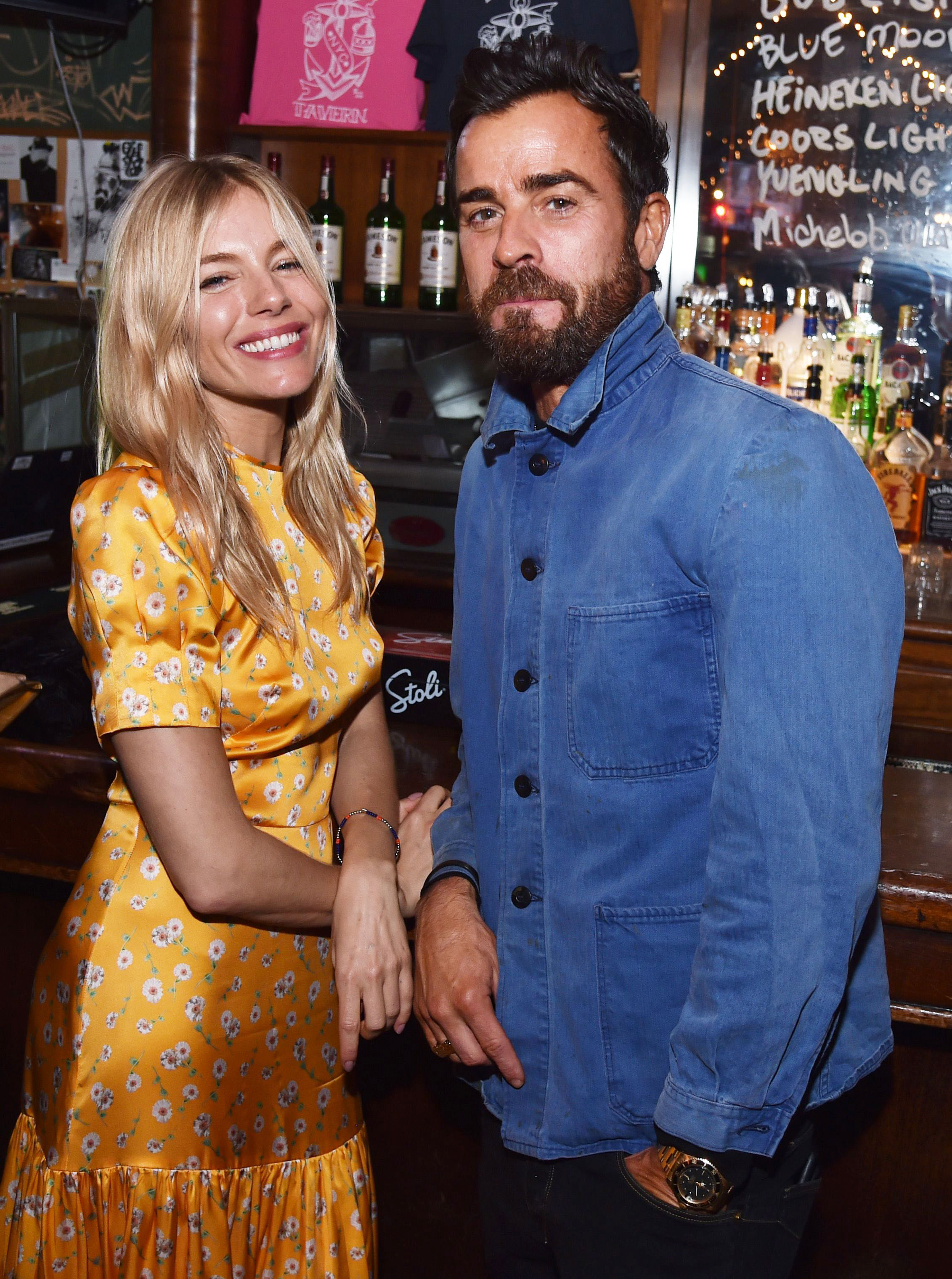 Justin Theroux and Sienna Miller