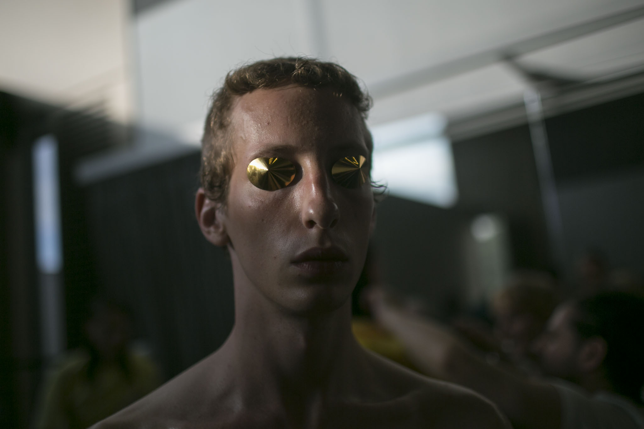 Backstage at Cottweiler Men's Spring 2019