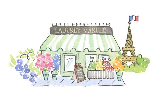 """Darphin at the Ladurée Marché"""