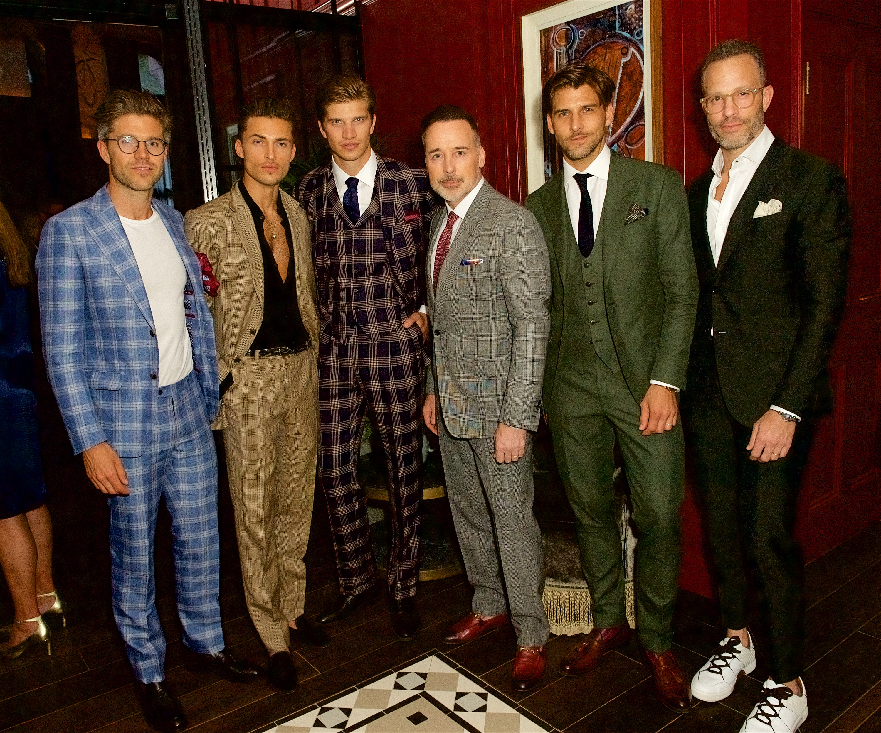 Darren Kennedy, Harvey Newton-Haydon, Toby Huntington Whitley, David Furnish, Johannes Huebl and Andrew Weitz