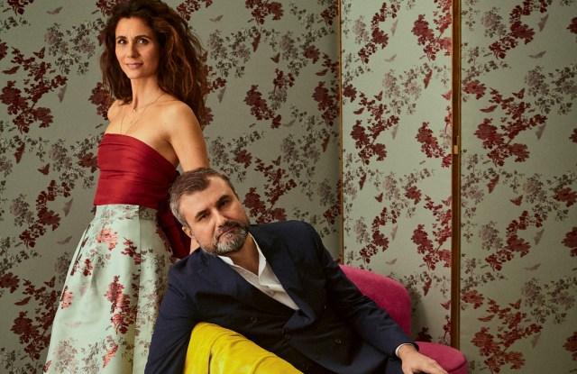 Caterina and Raffaele Fabrizio of Dedar.