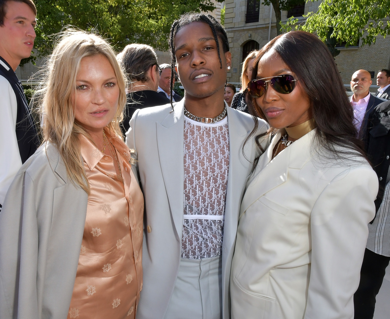 Kate Moss, ASAP Ricky and Naomi Campbell