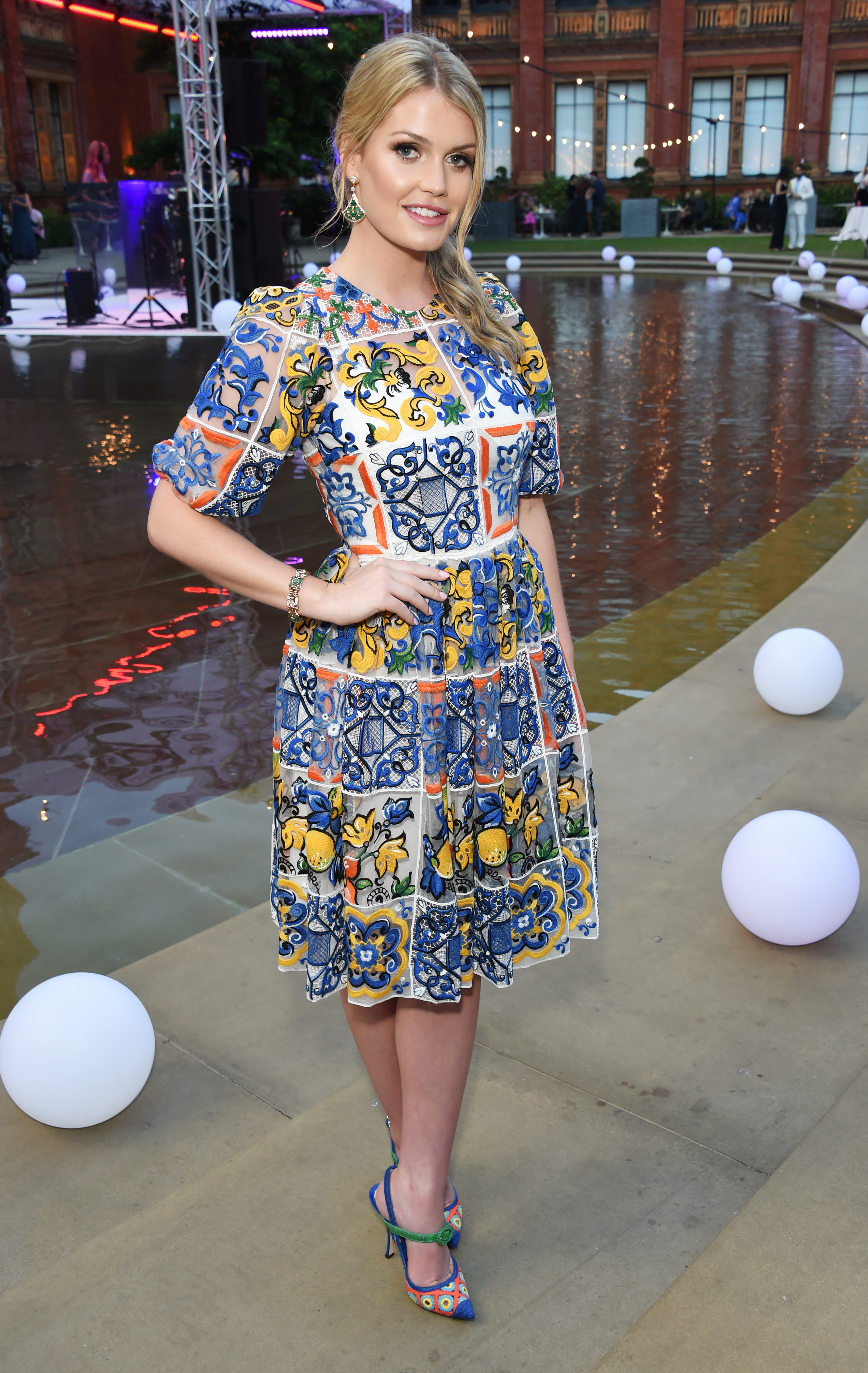 Lady Kitty Spencer attend the V&A Summer Party