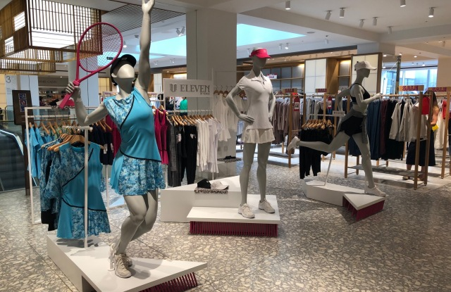 EleVen by Venus  Williams opens in-store shop at Selfridge's.