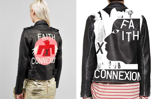 A leather jacket from the Faith Connexion x Swizz Beatz collaboration