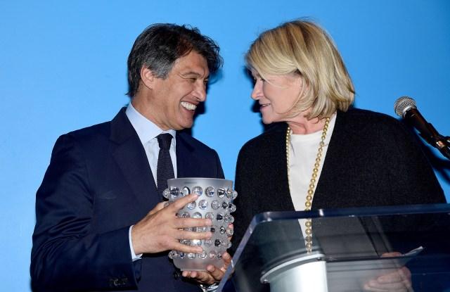 Frederic Fekkai, Martha Stewart==FIAF Art de Vivre Award Honoring Frederic Fekkai==FIAF, New York, NY==June 4, 2018==©Patrick McMullan==Photo - Aurora Rose/PMC====