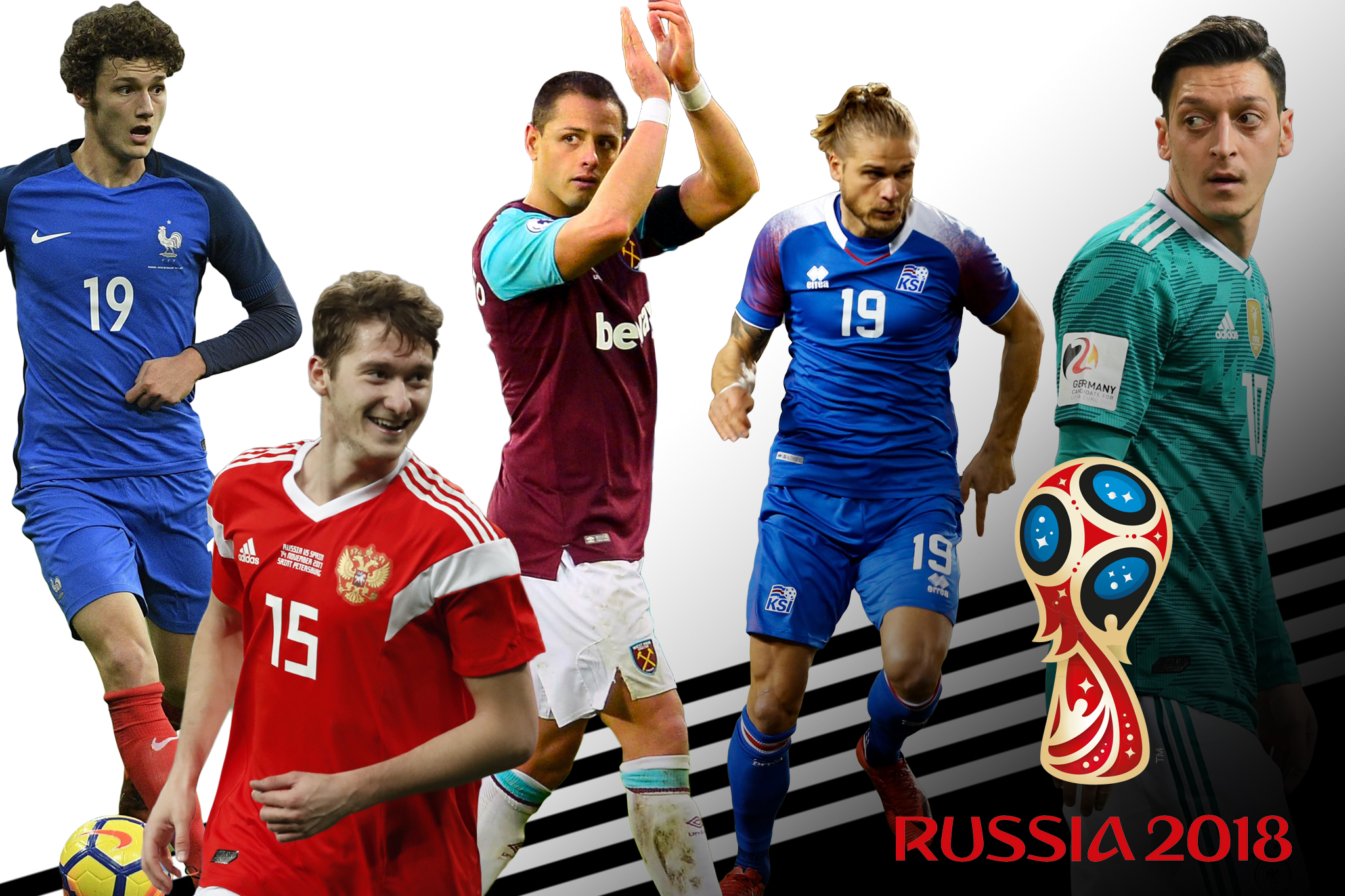 Players are vying to win the FIFA 2018 World Cup.