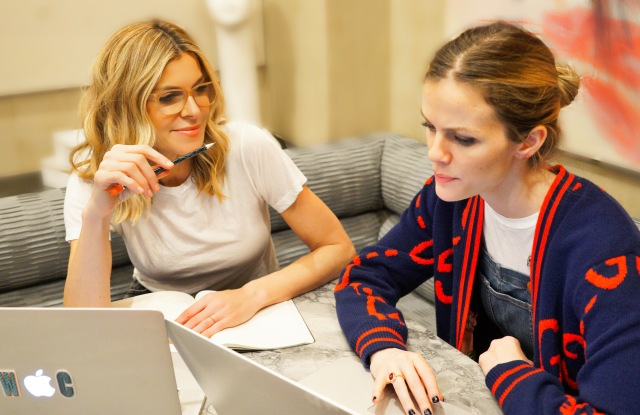 Finery founders Whitney Casey and Brooklyn Decker
