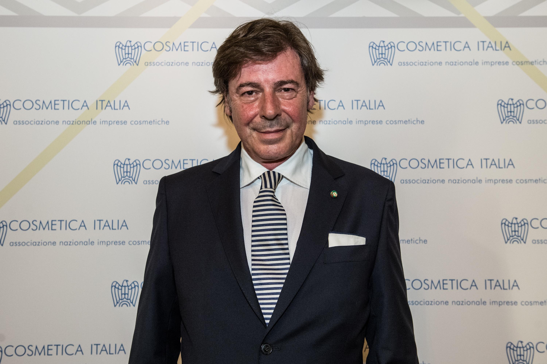 Cosmetica Italia's president Renato Ancorotti.