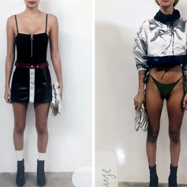 Frankies Bikinis RTW Polaroids