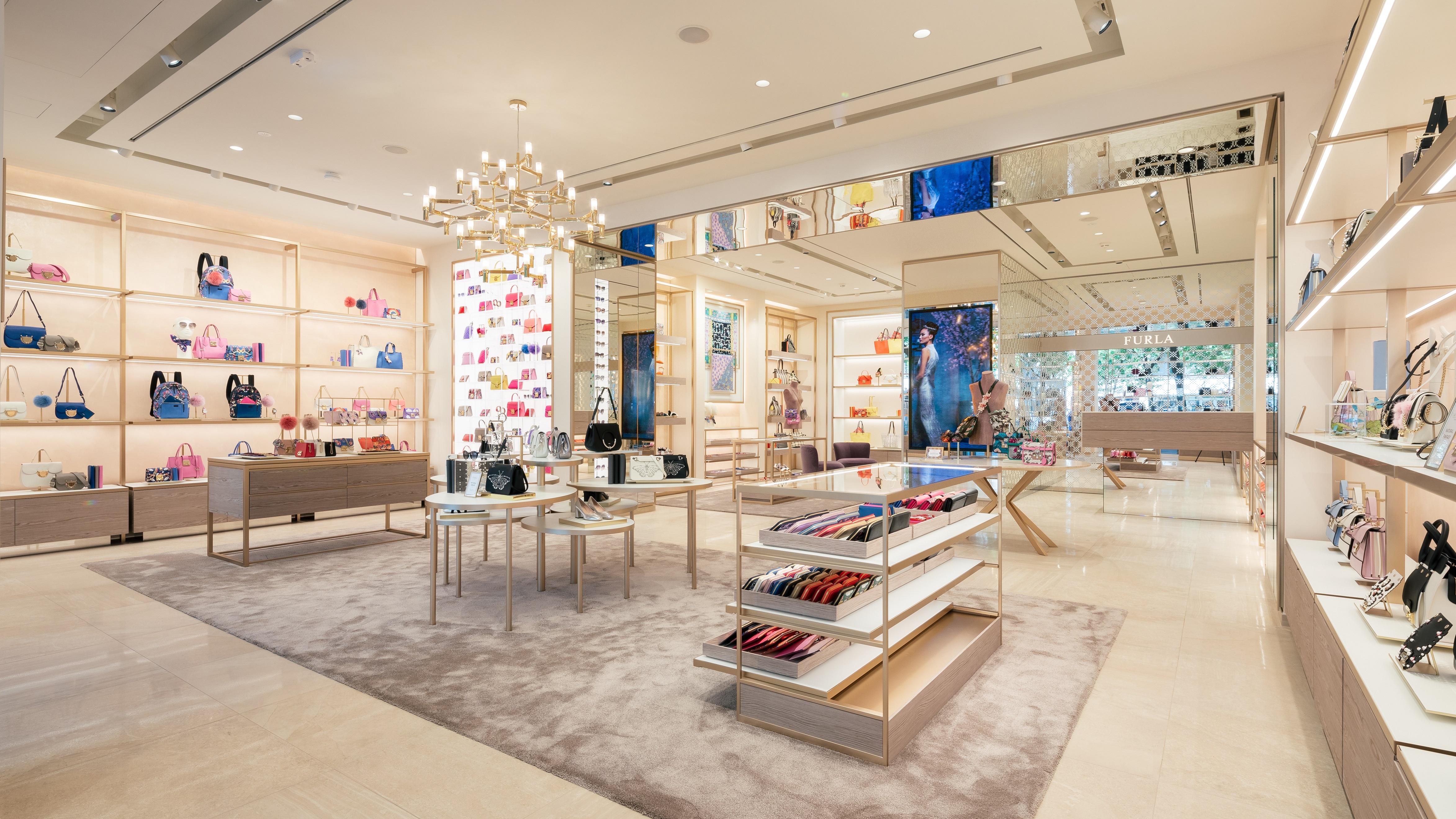 The new Furla Store in Berlin.
