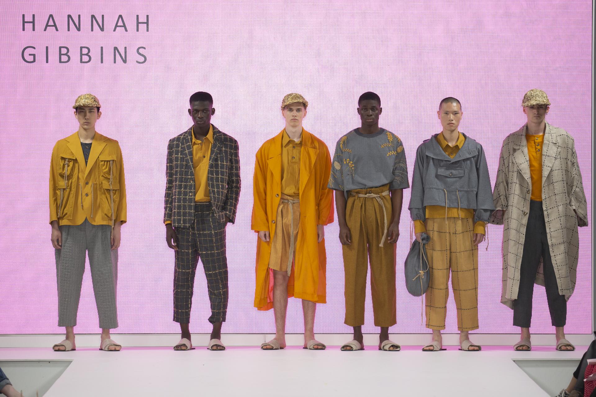 Hannah Gibbins collection at London's Graduate Fashion Week