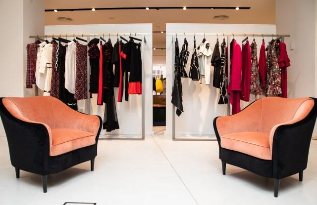 The new London's Harvey Nichols women's wear floor.