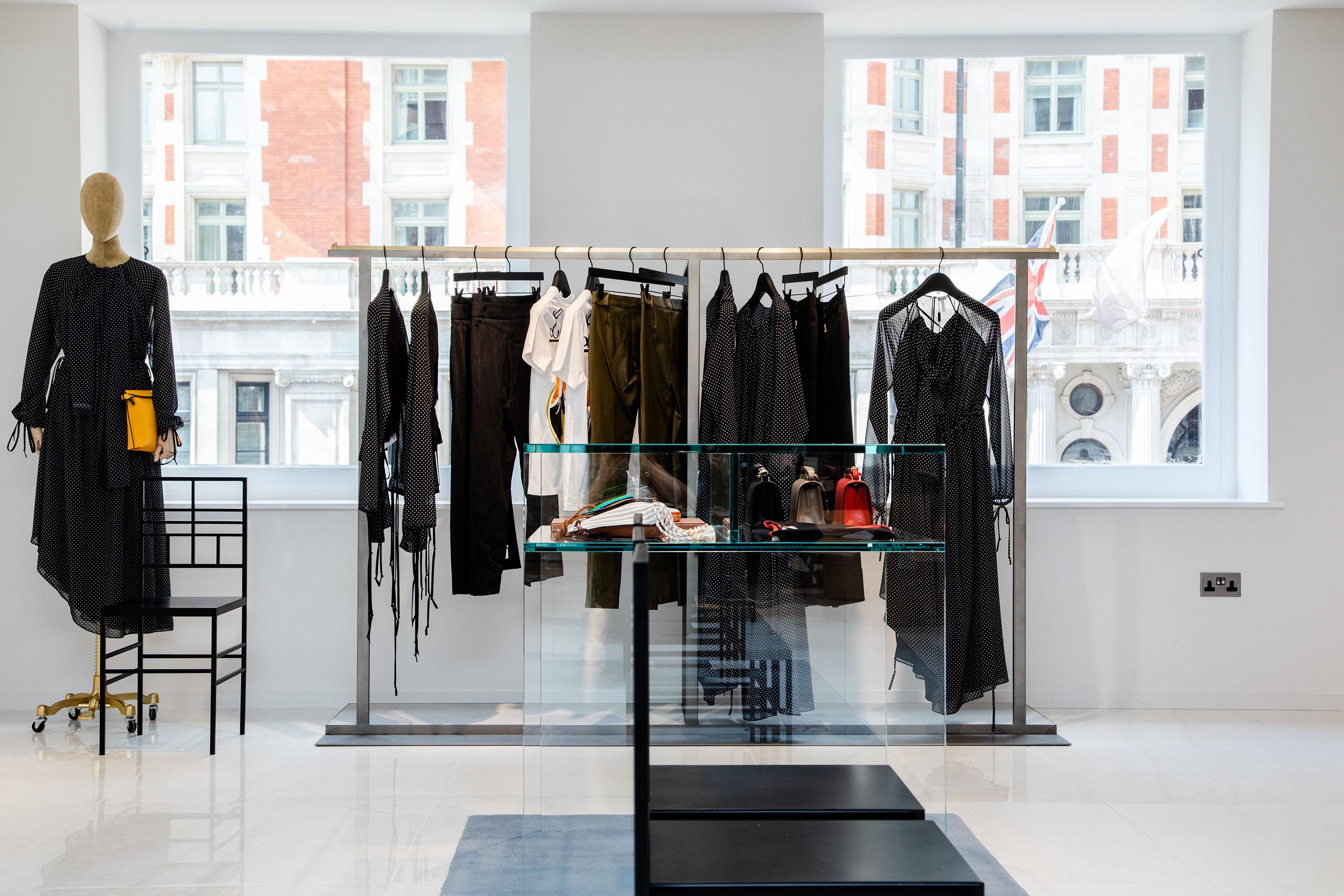 The new Harvey Nichols women's floor in London.