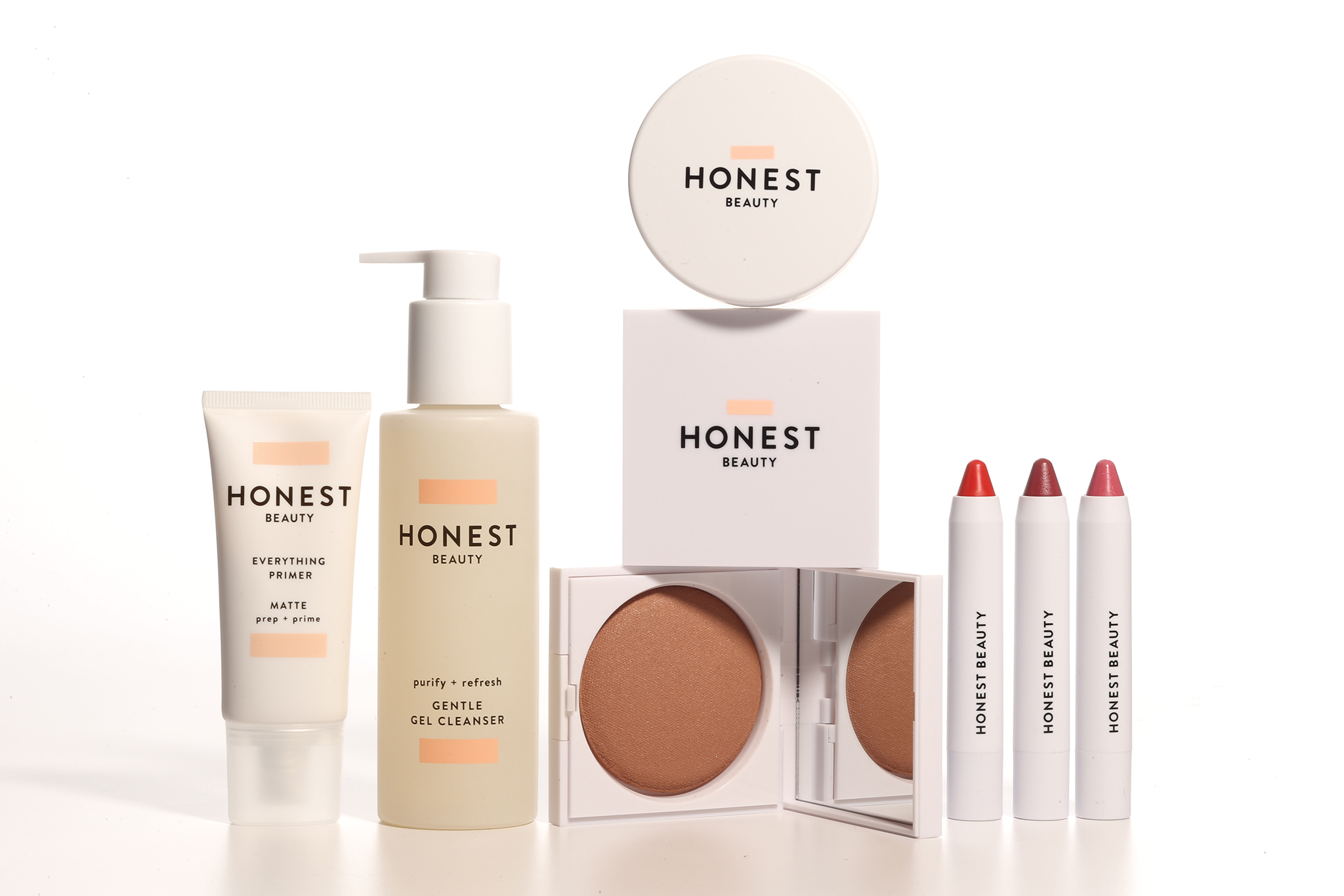 Honest Co Beauty products from jessica alba