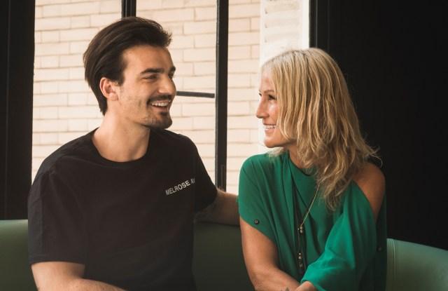 Montaigne Market founder Liliane Jossua and her son Alexandre Jossua Cabot