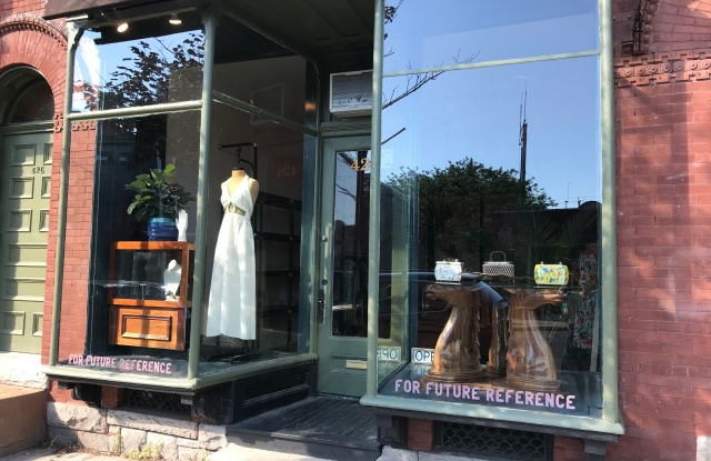 The For Future Reference boutique's storefront