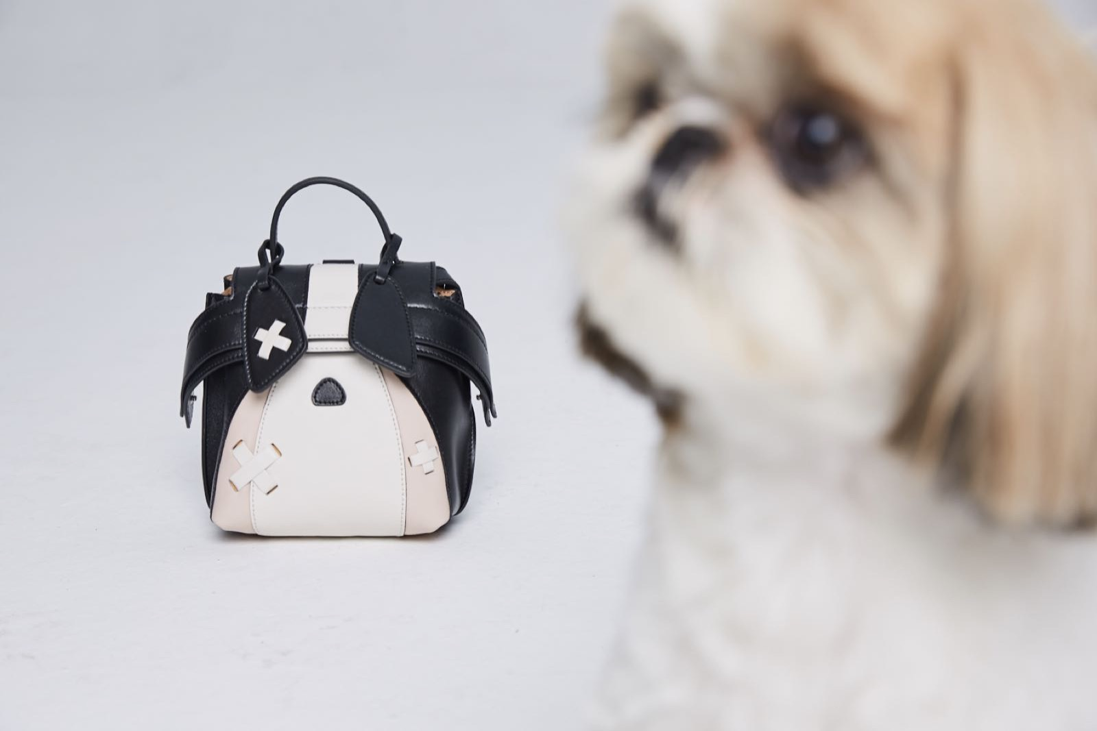 The purse riffs on the theme of the dog which is a celebrated zodiac animal this year in China.