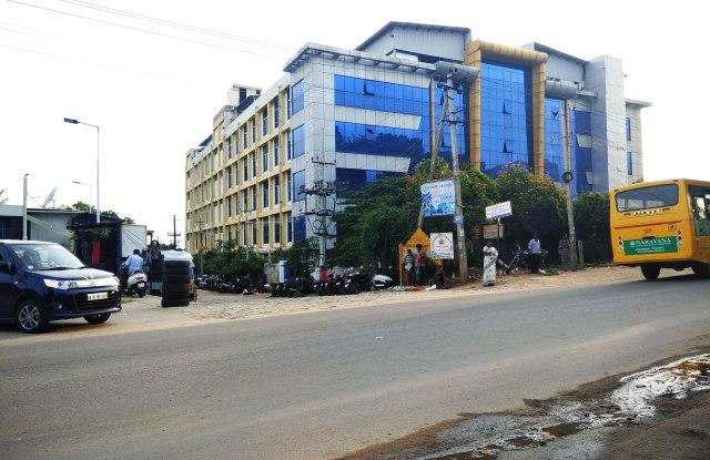 Shahi Exports' Unit 8 factory in Bangalore.