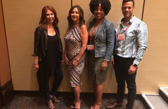 Tracy Abbott, Maria. Rush, Dawn Norvell and Quintin Bean at ECRM.