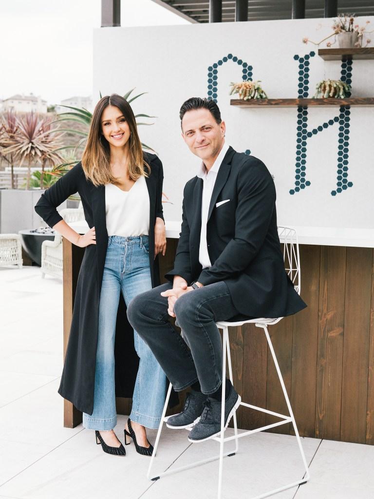 Nick Vlahos Jessica Alba Honest Co CEO