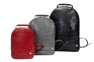 The backpacks come in a variety of colors.
