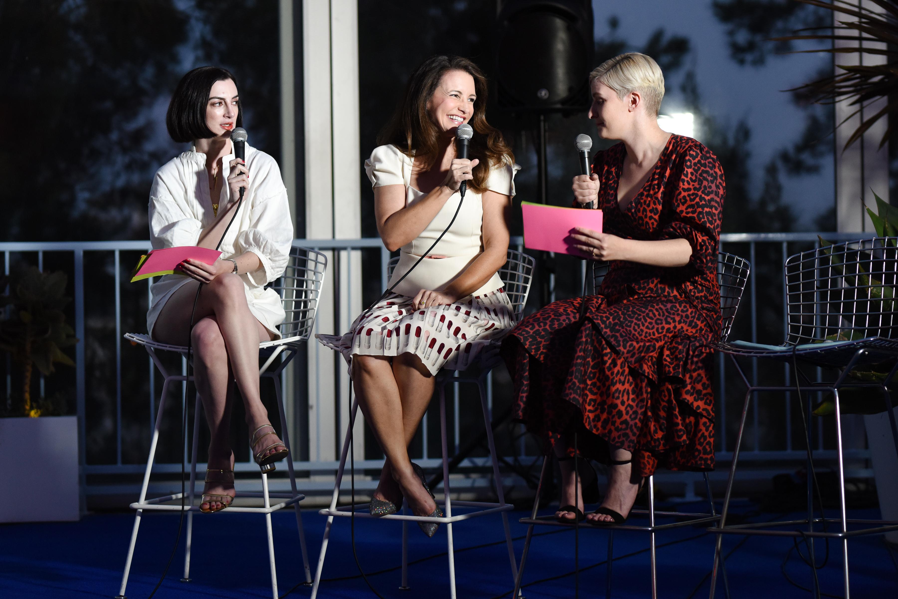 Lauren Garroni, Kristin Davis, Chelsea Fairless