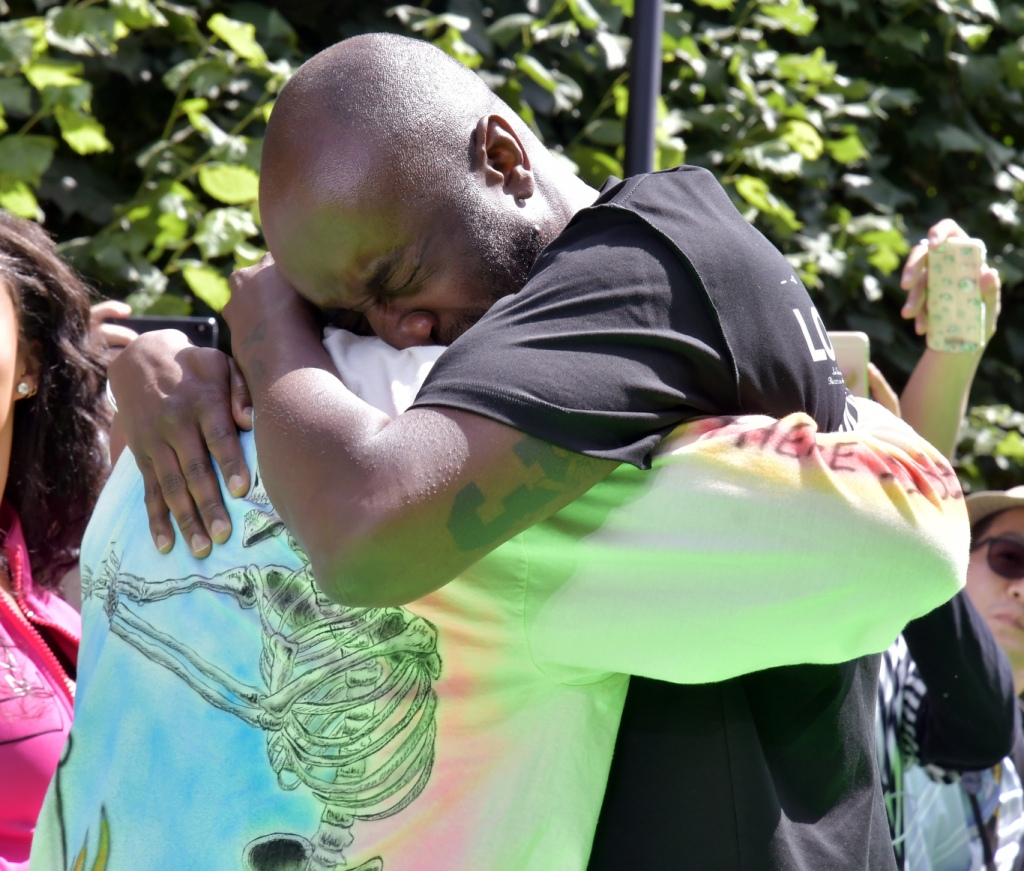 Kanye West and Virgil Abloh