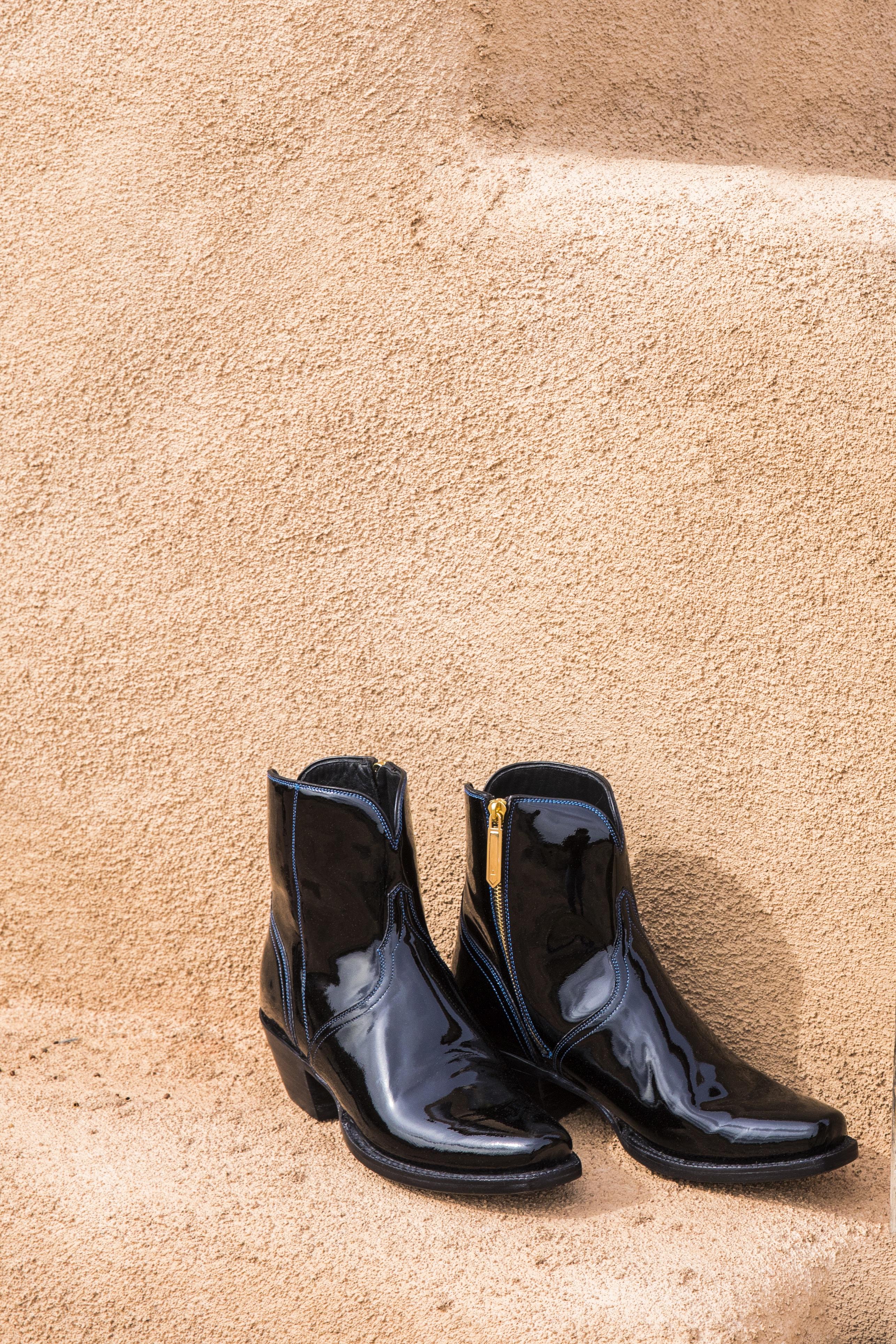 Erin Wasson Lucchese cowboy boots