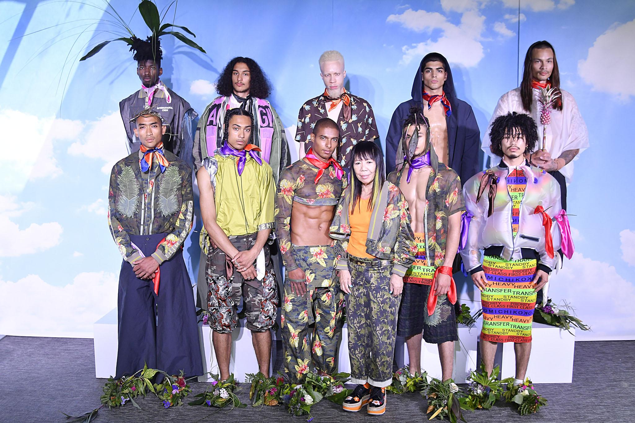 Michiko Koshino Presentation Men's Spring 2019