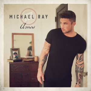 The cover of Michael Ray's new album, Amos.