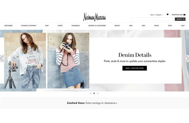 Neiman Marcus' web site.