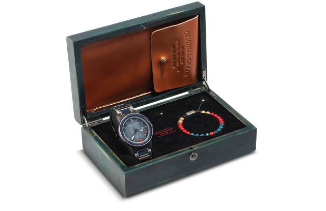 The Original Grain special Red Sox watch.