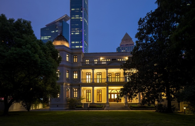 Prada's restored Rong Zhai house in Shanghai.