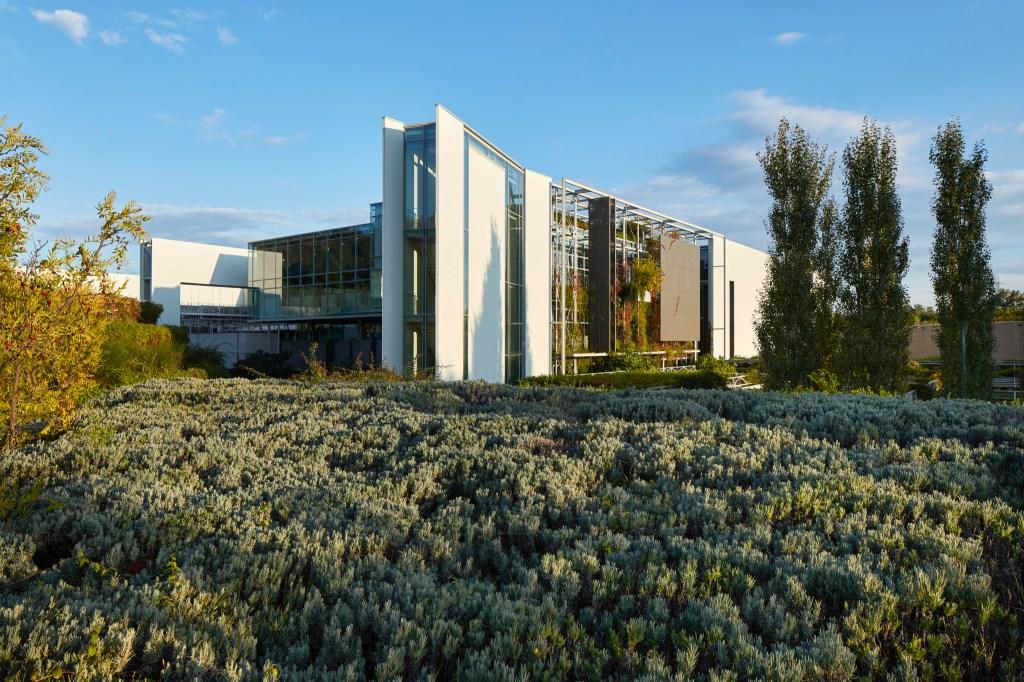 Prada's industrial complex in Valvigna, Italy.