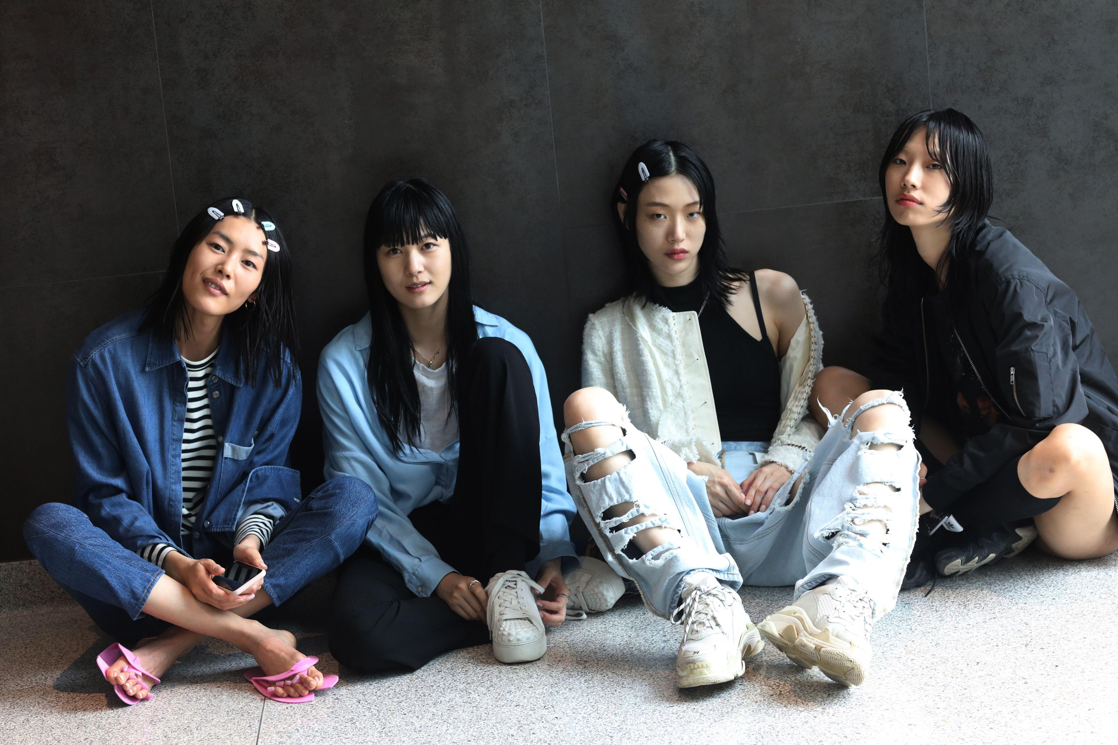 Backstage at Alexander Wang Resort 2019
