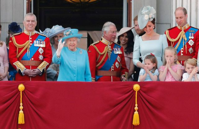 Britain Royals at the Trooping the Colors Parade