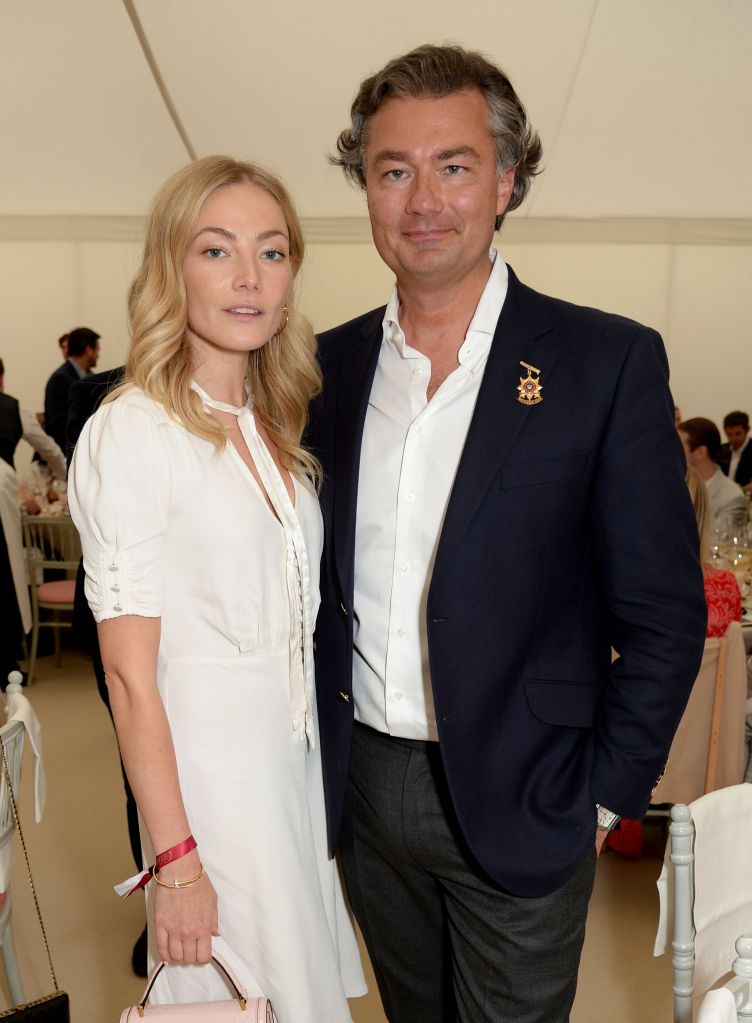 Clara Paget and Laurent Feniou