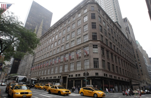 Saks Fifth Avenue flagship store in New York.
