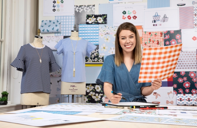 SCAD Savannah –Spring 2018 –CLC –Projects –Draper James –Project Coverage –Eichberg Hall –Photography by Courtesy Savannah College of Art and Design