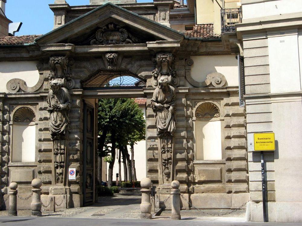 The former archbishop's seminary on Milan's Corso Venezia