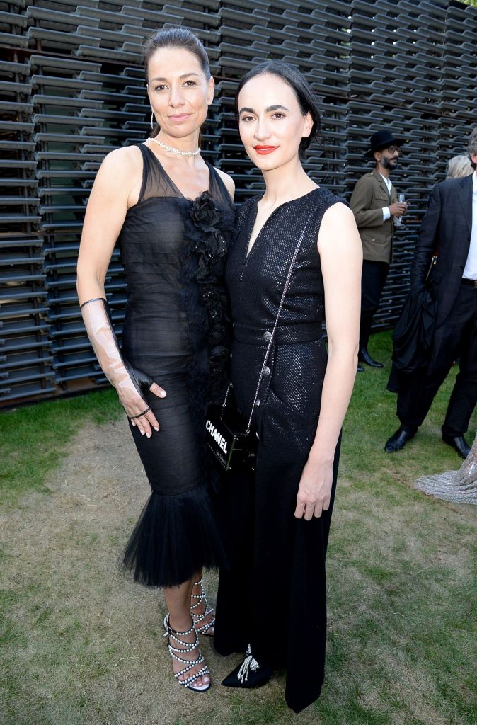Yana Peel and Frida EscobedoSerpentine Gallery Summer Party, Kensington Gardens, London, UK - 19 Jun 2018