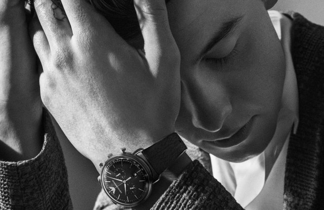 Shawn Mendes fronting the new Emporio Armani watch collection ad campaign.