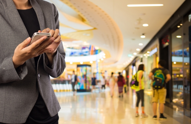Gen Z prefers shopping in a store, and use their mobile devices for research.