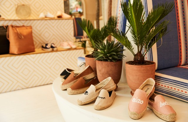 Soludos pop-up in SoHo