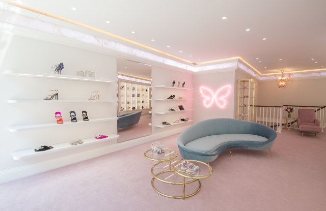 Inside Sophia Webster's new Sloane Avenue boutique